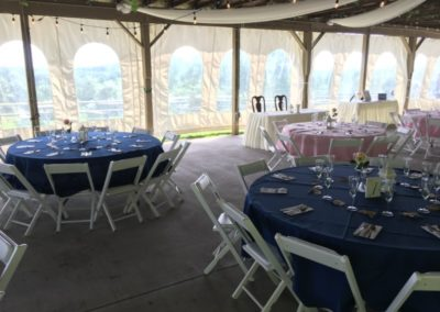 2a View Wedding Round Tables