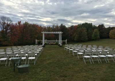 2d View Wedding Outdoor Ceremony