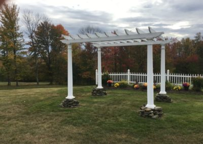 2f View Wedding Outdoor Pergola