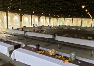 3b View Wedding Rustic Outdoor Fall Tables