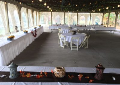 3c View Wedding Head Table Fall