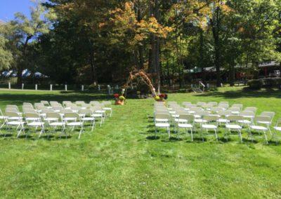 4a Grove Outdoor Wedding Ceremony
