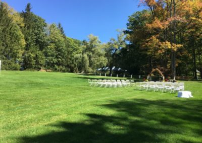 4c Grove Relaxed Outdoor Wedding Ceremony