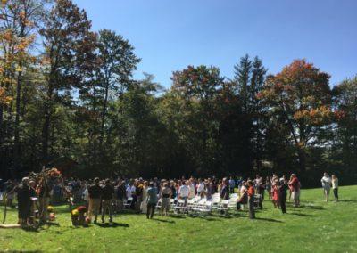 4d Grove Outdoor Wedding Ceremony